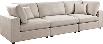 Amazon.com: Ikea Sectional, 3-seat, Skaftarp yellow ...