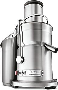 Breville 800JEXL Juice Fountain Elite 1000-Watt Juice Extractor,Brushed Stainless