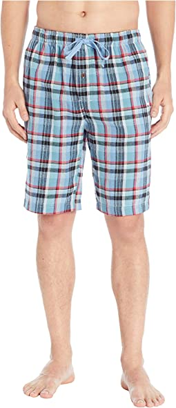 Plaid Flannel Jam Shorts