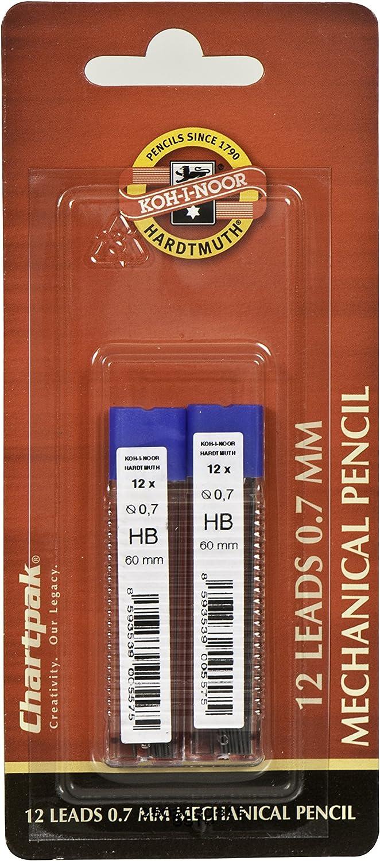5035RBC.5 12 Per Pack Koh-I-Noor Mephisto Mechanical Pencil 0.5MM HB Lead Refills