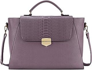 NEWHEY NEWHEY Handtasche Shopper Damen Groß Aktentasche Damen Laptop Tasche 15.6 Zoll Elegant Umhängetasche Arbeitstasche für Business Büro Arbeit Schule