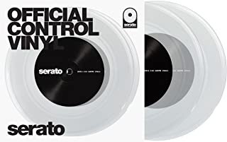 Serato SCV-PS-CLE-7 7-inch Control Vinyl Clear Pair
