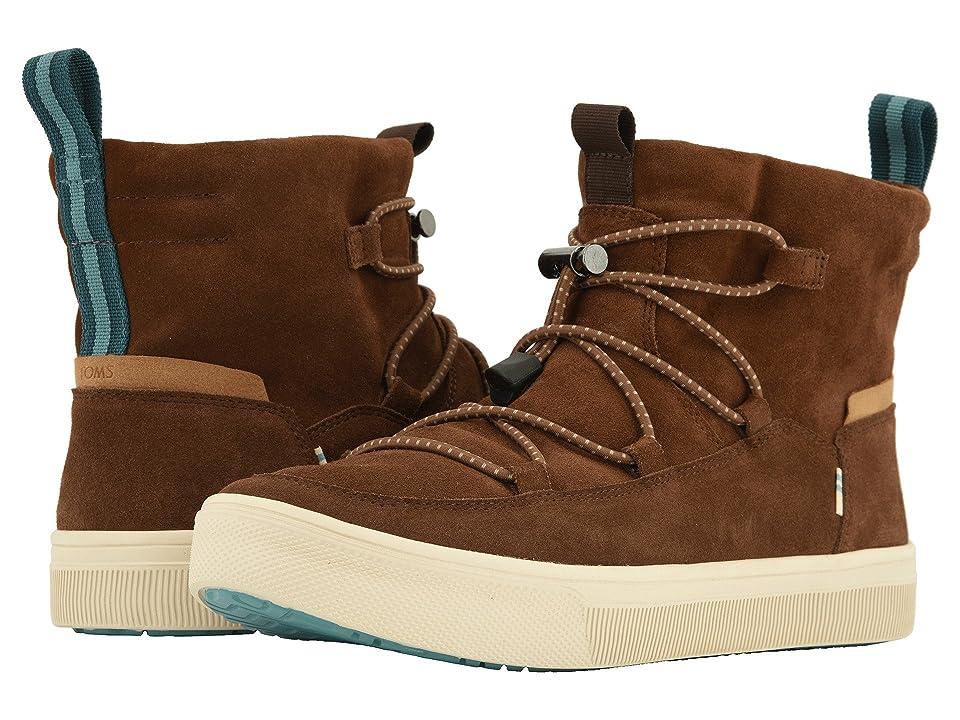 TOMS TRVL LITE Alpine Water-Resistant Boot (Bark Suede) Men