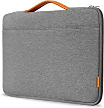 "Inateck 13-13.3 Inch Sleeve Case Briefcase Cover Protective Bag Ultrabook Netbook Carrying Protector Handbag Compatible 13"" MacBook Air/MacBook Pro(Retina) 2012-2015, 2018/2017/2016 Dark Gray"