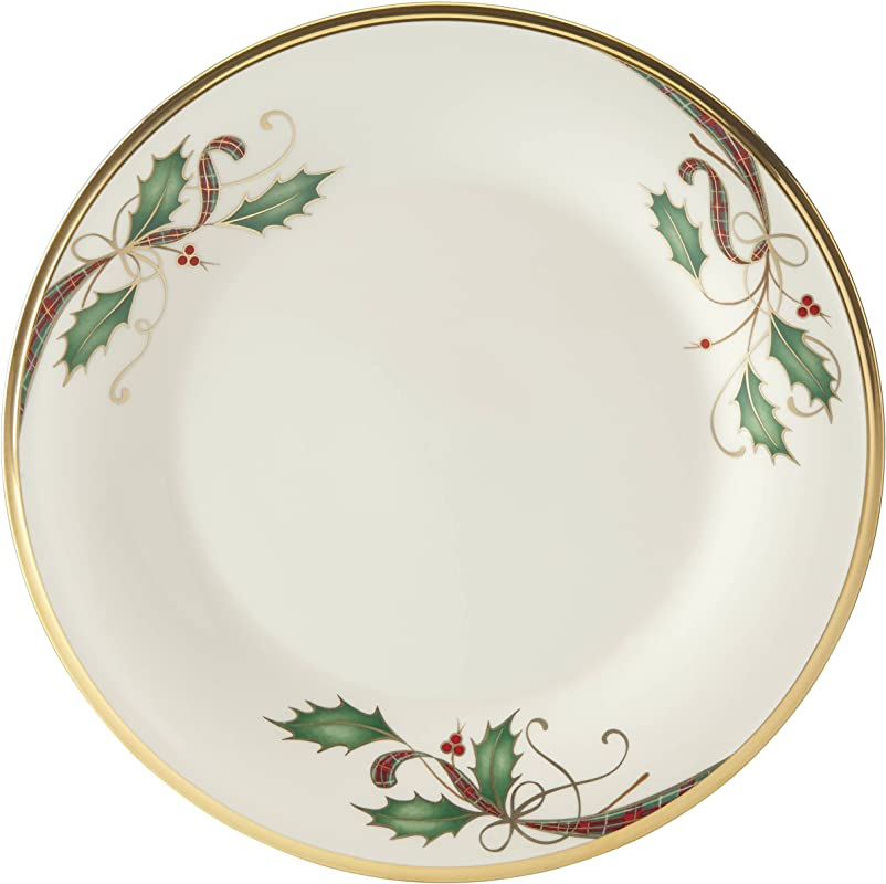 Lenox Holiday Nouveau Gold Dinner Plate