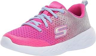 Skechers Kids' Go Run 600-sparkle Speed Sneaker