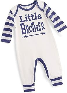 Tesa Babe Little Brother Romper, Newborn Baby Boy Cotton Jumpsuit