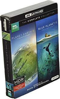 Planet Earth II and Blue Planet II: The Collection (4K Ultra UHD) [Blu-ray]