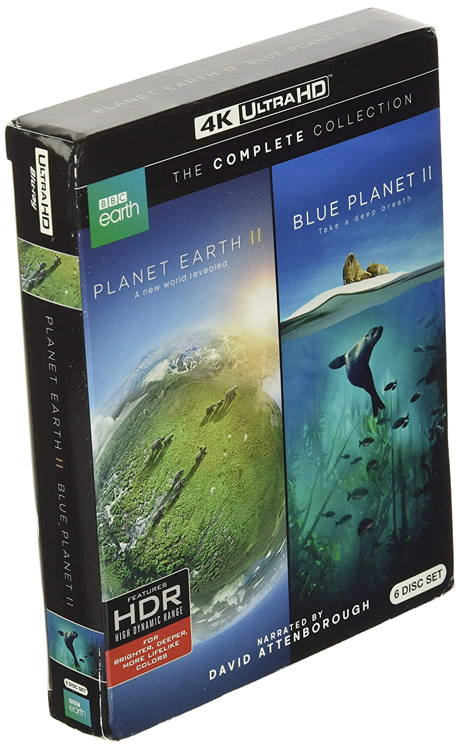 Planet Earth National products Import II Blue 4KUHD