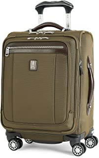 Platinum Magna 2 International Carry-On Expandable Spinner Carry-On Suitcase, 20-in., Olive
