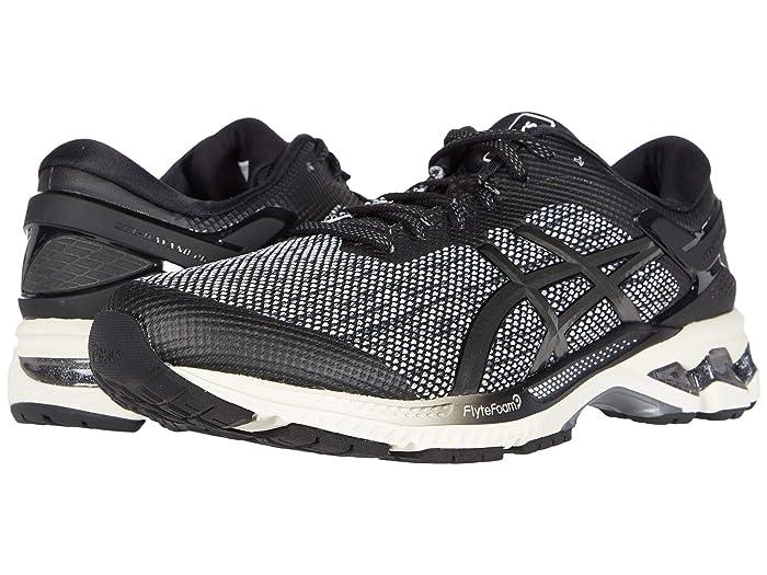 ASICS  GEL-Kayano 26 (Black/Gunmetal) Mens Running Shoes