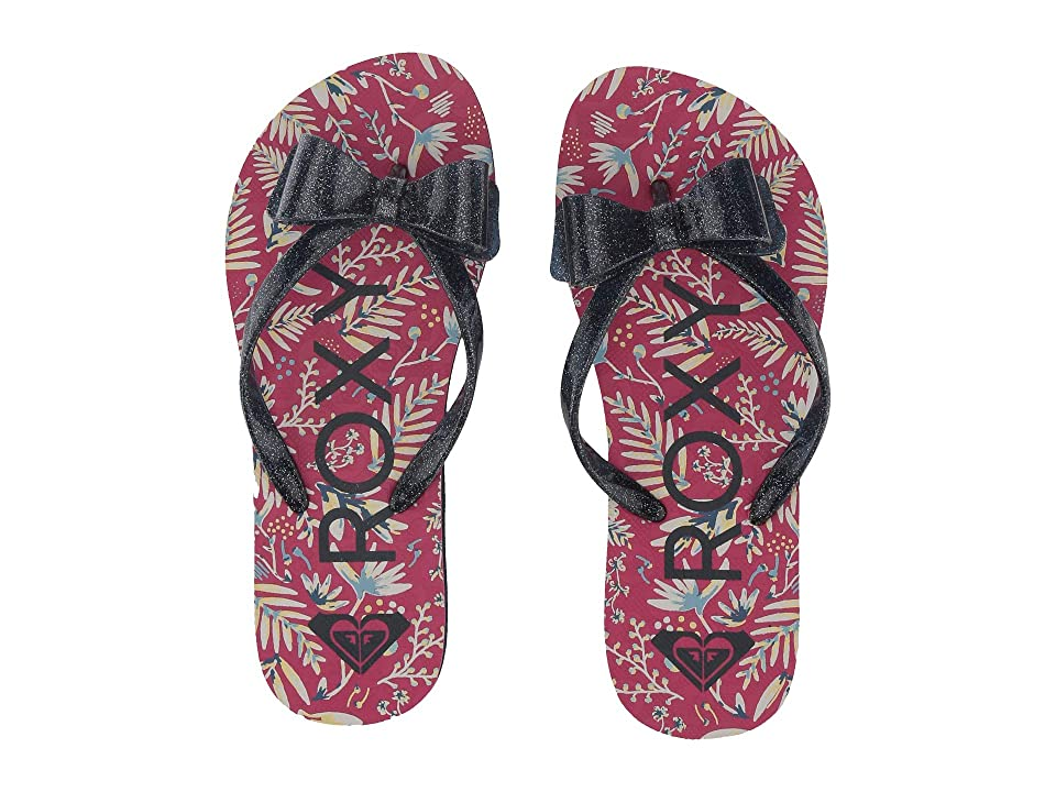 Roxy Kids Lulu III (Little Kid/Big Kid) (Hot Pink) Girls Shoes