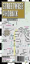 Streetwise Phoenix Map - Laminated City Center Street Map of Phoenix, Arizona - Folding pocket size travel map with Scottsdale trolley routes