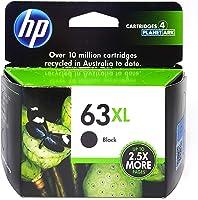 Ink Cartridge HP #63XL F6U64AA High Yield Black Ink Cartridge (Genuine), (F6U64AA)
