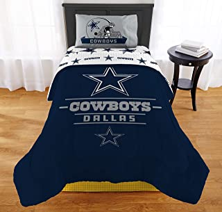"""The Northwest Company NFL Dallas Cowboys """"Monument"""" Twin/Full Comforter Set #347951997"""