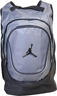 Nike Air Jordan 23 Jumpman Backpack School (One Size, Black and Gray Elephant)