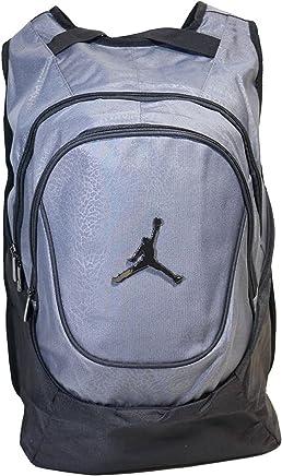 e005877338c Nike Air Jordan 23 Jumpman Backpack School Bag/Laptop Grey/Black