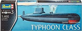 Revell - 05138 - Modelo del Submarino Ruso - Clase Typhoon - 1/400 Escala