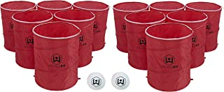 Wicked Big Sports Pong Party Pack Outdoor Tailgate Games, Multicolor, 12 Cups