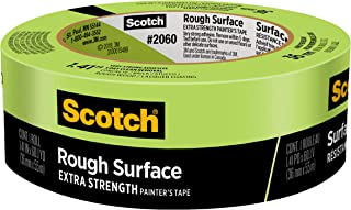 Scotch Rough Surface Painter`s Tape, 1.41 inch x 60 yard, 2060, 1 Roll