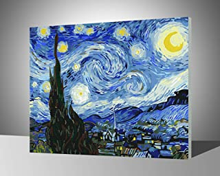 Paint by Numbers for Adults with Frame by Banlana, DIY Adult Paint by Number Kits for Beginners on Canvas Wooden Framed 1...