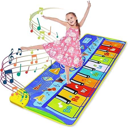LEADSTAR Juguetes Niños 2 3 4 5Años, Alfombra para Piano, Alfombra de Teclado Táctil Musical Touch Juego Musical, Alfombra para Teclado, Alfombra ...