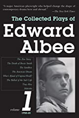 The Collected Plays of Edward Albee, Volume 1: 1958-1965 Paperback