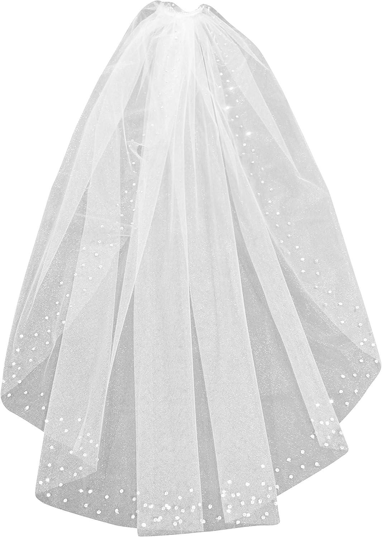 Shop Ginger Wedding Handmade Elbow 1T Swarovski Rhinestones Edge Bridal Veil