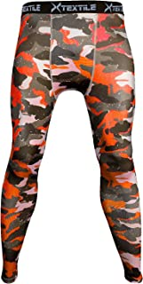 Mens Snow Camouflage Sports Compression Tight Cool Dry Sports Pants Base Layer Running Leggings Yoga Rash Guard