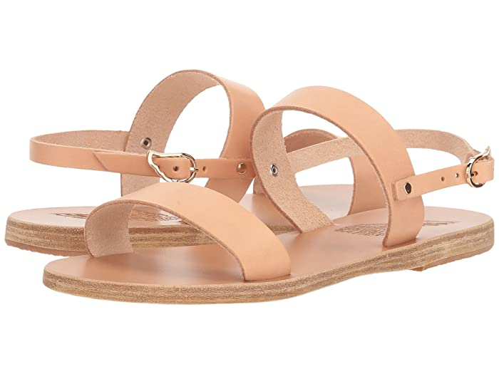 Ancient Greek Sandals  Clio (Natural Vachetta) Womens Sandals