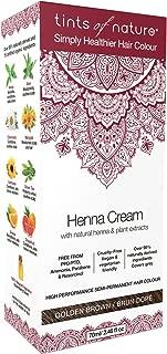 TINTS OF NATURE Henna Cream, Golden Brown, 5 Pound