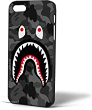 Bape Shark Black Army Pattern for Iphone Case (iPhone 6s Black)