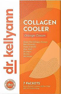 Keto Shake Packets to Go - Orange Cream Smoothie, 100% Grass Fed Collagen Protein Powder – Perfect for Keto, Paleo & Weigh...