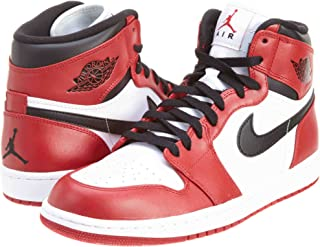Mens Air Jordan 1 Retro High Chicago Leather Basketball Shoes