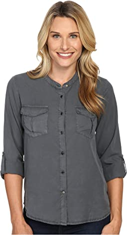 Pippa Two-Pocket Tencel Blouse
