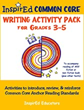 Common Core Activity Pack #4 Gr. 3-5 Anchor Writing (purpose for writing)