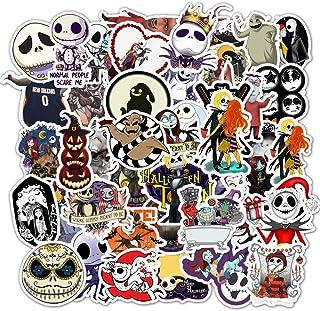 Halloween Theme Stickers Laptop Stickers The Nightmare Before Christmas and Tim Burton's Sticker Vinyl Waterproof Stickers...