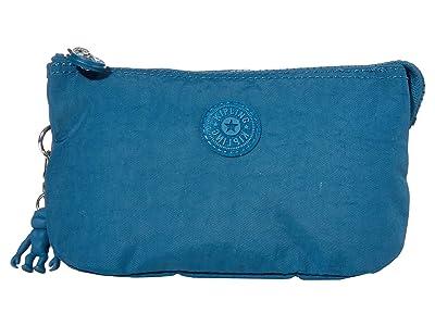 Kipling Creativity Large Pouch (Mystic Blue) Clutch Handbags
