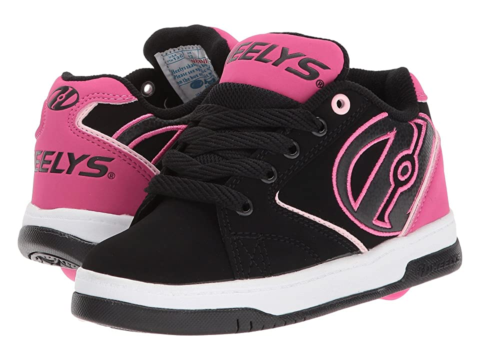 Heelys Propel 2.0 (Little Kid/Big Kid/Adult) (Black/Pink/White) Kids Shoes