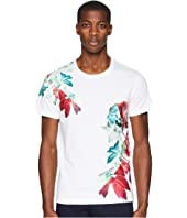 Versace Jeans - Exploded Floral Graphic T-Shirt