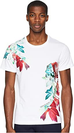 Exploded Floral Graphic T-Shirt