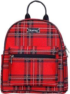 Tapiz Mochila Informal Mochila Mujer Mochilas Escolares con diseño de patrón de Moda (Royal Stewart Tartan)