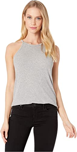 Marina High Neck Tank Top