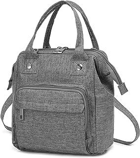LOVEVOOK Tasche Klein Canvas Umhängetasche Damen Handtasche Klein Crossbody Tasche Messenger Bag Schultertasche rucksack e...