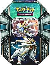 Pokemon TCG: Legends of Alola Solgaleo-GX Tin | Collectible Trading Card Set | 4 Booster..