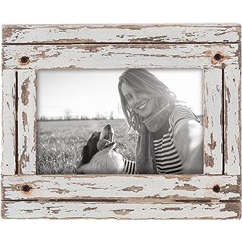 Foreside Home & Garden FFRD06190 4X6 Heartland Photo Frame White