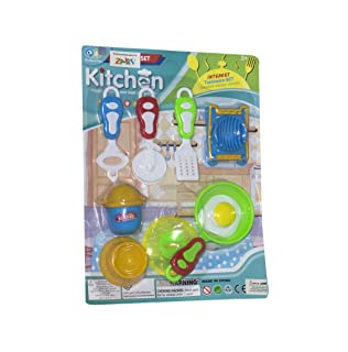 DB152A Kitchen Playset for Girls - Multi Color