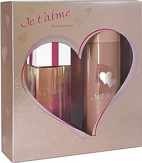 JE TAIME PASSIONNEMENT • Caja para mujer • Eau de Parfum 100 ml + Desodorante 150 ml • Vaporizador • Spray • Perfume para...