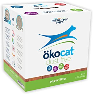 ökocat Natural Paper Cat Litter, 12.3-Pound, Dust Free