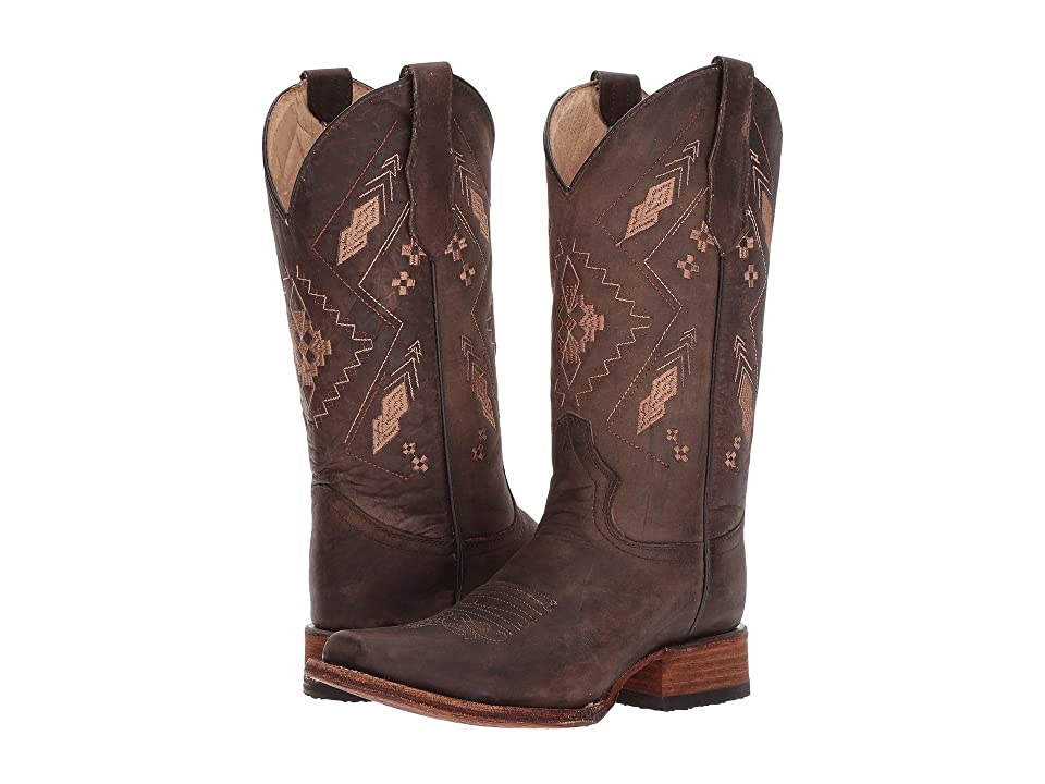 Corral Boots L5291 (Chocolate) Cowboy Boots